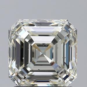 Asscher 1.50 carat L SI1 Photo