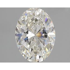 Oval 1.50 carat I SI1 Photo
