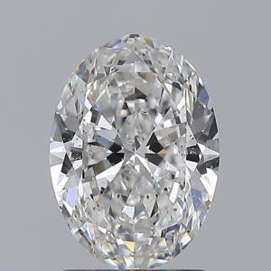Oval 1.52 carat E SI2 Photo