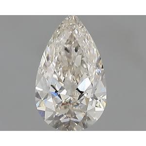 Pear 0.30 carat I VS2 Photo