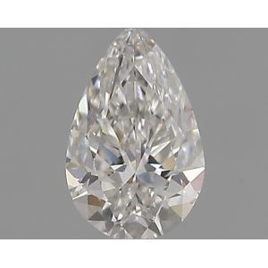 Pear 0.30 carat F SI1 Photo