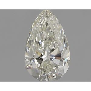 Pear 0.30 carat J SI1 Photo