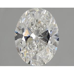 Oval 1.50 carat D SI1 Photo
