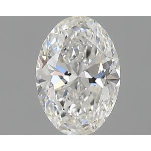 Oval 0.30 carat F SI1 Photo