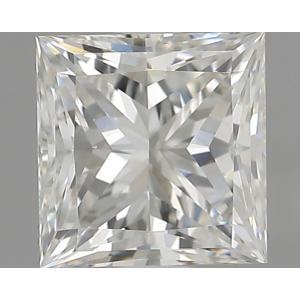 Princess 0.90 carat G VS2 Photo