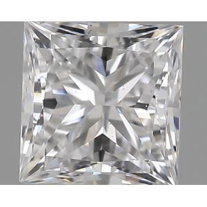 Princess 0.30 carat D SI1 Photo