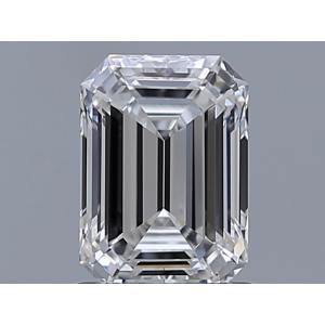Emerald 1.00 carat E VVS1 Photo