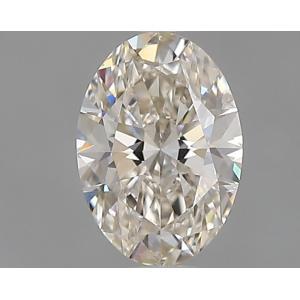 Oval 0.30 carat J SI1 Photo