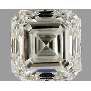 Asscher 0.90 carat K VS1 Photo