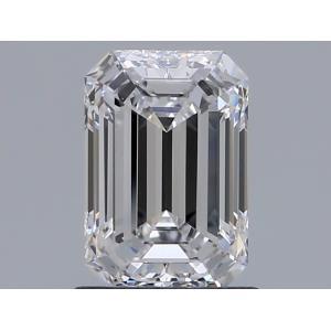 Emerald 1.00 carat D IF Photo