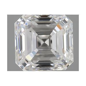 Asscher 0.70 carat E VVS1 Photo