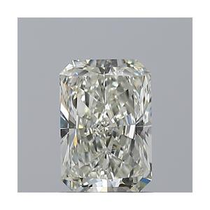Radiant 1.00 carat K SI1 Photo