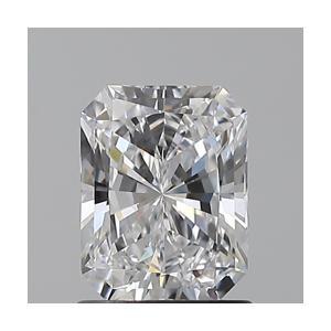 Radiant 1.01 carat D IF Photo