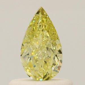 Pear 0.51 carat Yellow  Photo