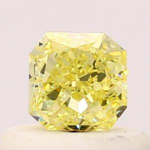 Radiant 0.37 carat Yellow SI1 Photo