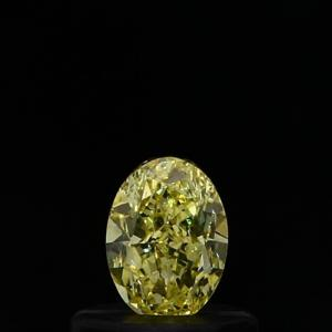 Oval 0.39 carat Yellow SI1 Photo