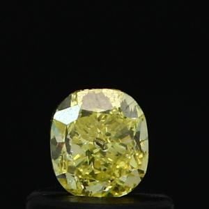 Cushion 0.42 carat Yellow  Photo