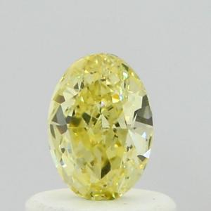 Oval 0.40 carat Yellow  Photo