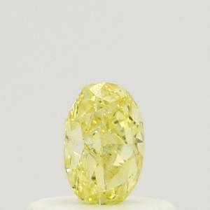 Oval 0.34 carat Yellow  Photo