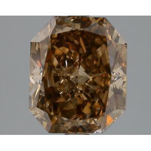 Radiant 3.07 carat Brown  Photo