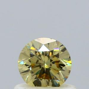 Round 0.51 carat Yellow SI2 Photo