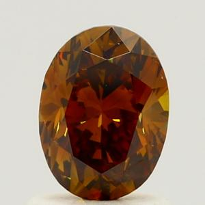 Oval 1.01 carat Brown I1 Photo