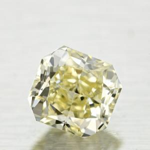 Radiant 0.49 carat Yellow SI2 Photo