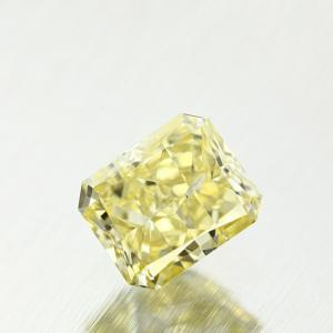 Radiant 0.34 carat Yellow I1 Photo