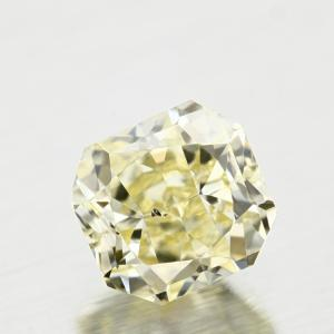 Radiant 0.44 carat Yellow SI1 Photo