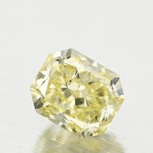 Radiant 0.44 carat Yellow SI2 Photo