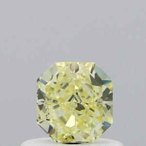 Radiant 0.46 carat Yellow VVS2 Photo