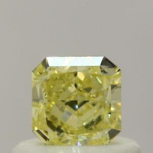 Radiant 0.41 carat Yellow SI1 Photo