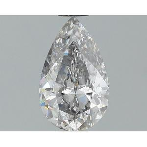 Pear 0.71 carat Gray I2-I3 Photo