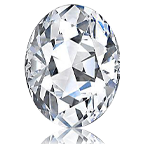 Oval 0.32 carat J VVS2 Photo