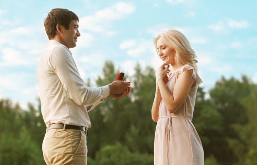 engagement ring proposal in Minneapolis Minnesota.