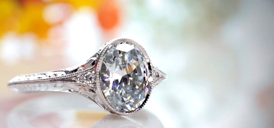 Antique Engagement Rings In Dallas Vintage Wedding Denver