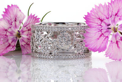 Wedding Rings and Wedding Bands at Knox Jewelers. Micro pave wedding rings and diamond rings.