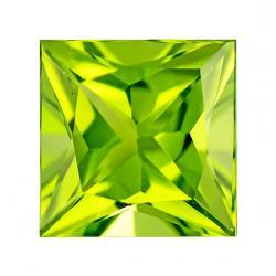 Peridot Square 2.65 carat Green Photo