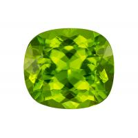 Peridot Cushion 7.80 carat Green Photo