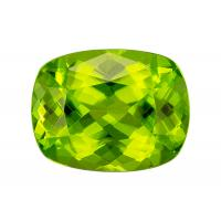 Peridot Cushion 4.84 carat Green Photo
