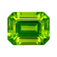 Peridot Emerald 3.67 carat Green Photo