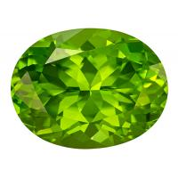 Peridot Oval 8.69 carat Green Photo