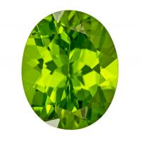 Peridot Oval 4.03 carat Green Photo