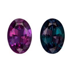 Alexandrite Oval 1.17 carat Purple/Green Photo