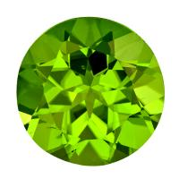 Peridot Round 4.91 carat Green Photo
