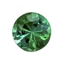 Tourmaline Round 0.45 carat Blue Green Photo