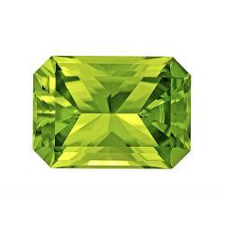 Peridot Radiant 5.37 carat Green Photo
