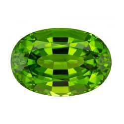 Peridot Oval 18.19 carat Green Photo