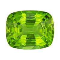 Peridot Cushion 11.88 carat Green Photo