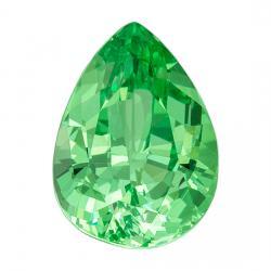 Garnet Pear 1.05 carat Green Photo